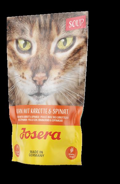 Josera Soup Huhn mit Karotte & Spinat Frischebeutel (Katze)