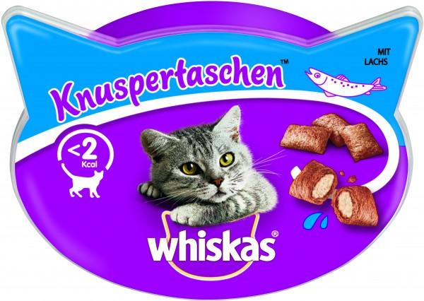 Whiskas Knuspertaschen mit Lachs Katzensnack günstig kaufen