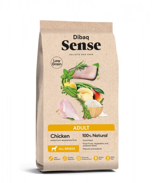 Dibaq Sense ADULT (Chicken) Low Grain | MD PET FOOD kaufen