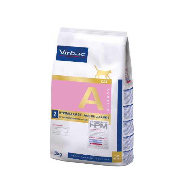 Virbac Cat Hypoallergy Hydr. Salmon Protein