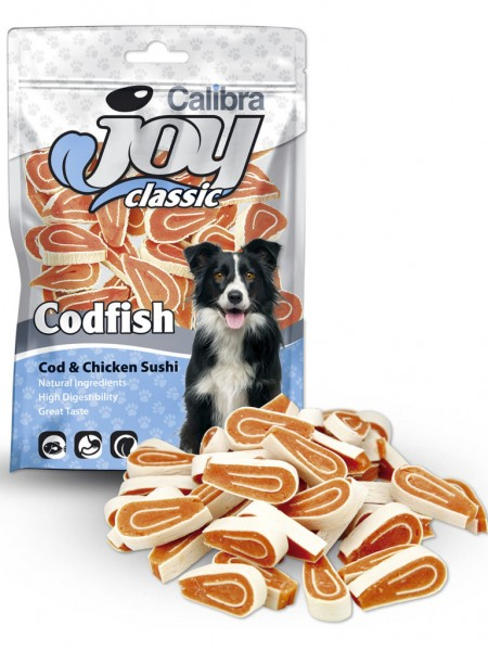 Calibra Joy Dog Classic Cod & Chicken Sushi