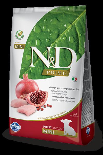 N&D Grain Free Puppy Mini Chicken & Pomegranate (Hund)