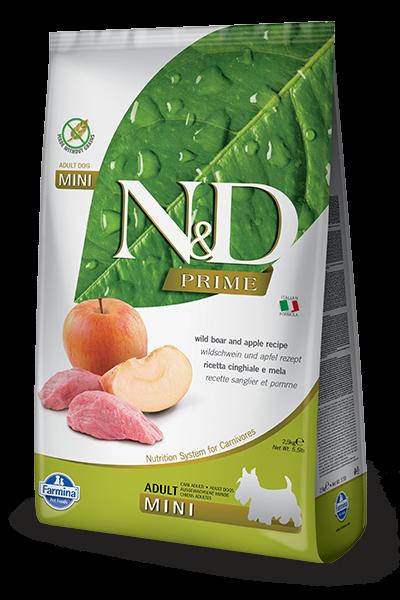 N&D Grain Free Adult Mini Boar & Apple (Hund) | MDPETFOOD