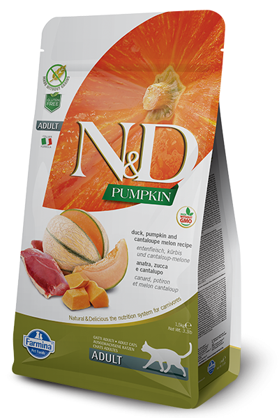 N&D Grain Free Adult Pumpkin Duck (Katze)
