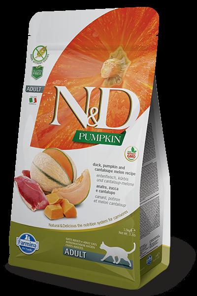 N&D Grain Free Adult Pumpkin Duck (Katze)