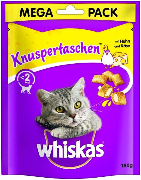 Whiskas Knuspertaschen Mega Pack mit Huhn & Käse (Katze)