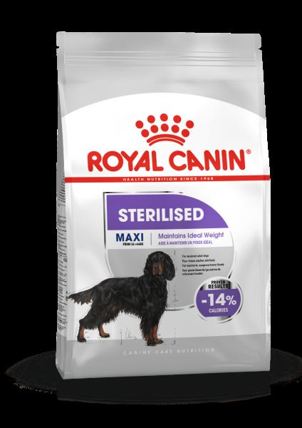 Maxi Sterilised (Hund)