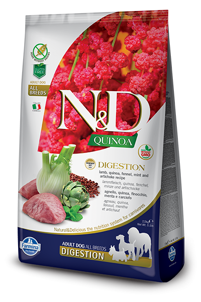 N&D Grain Free Adult Quinoa Digestion Lamb (Hund)