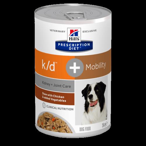 Canine k/d + Mobility (Hund)