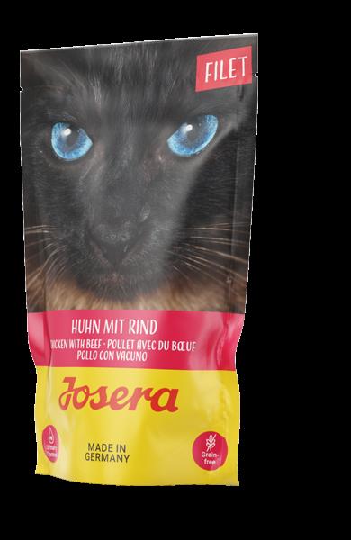Josera Filet Huhn mit Rind Frischebeutel (Katze)