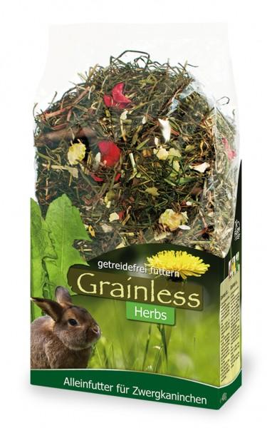 JR Grainless Herbs Zwergkaninchen