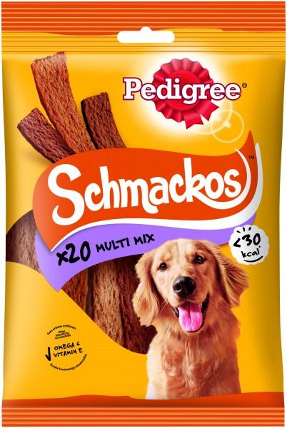 Pedigree Schmackos Multi Mix 20 Streifen Hundesnack günstig kaufen