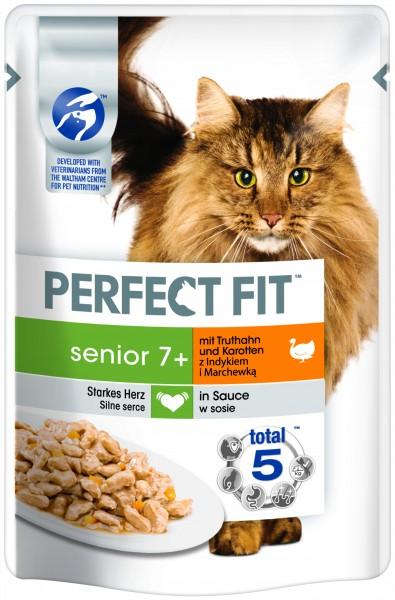 Perfect Fit Senior 7+ mit Truthahn und Karotten 85g günstig kaufen
