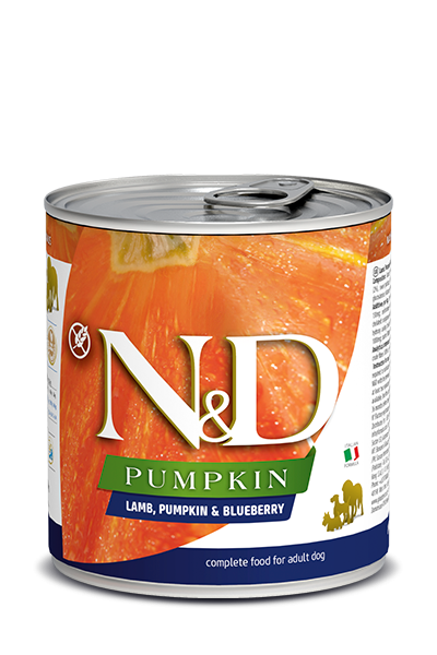 N&D Pumpink Adult - Lamm, Kürbis & Heidelbeere (Hund)