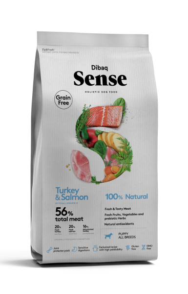 Dibaq Sense Salmon & Turkey Puppy | MD PET FOOD kaufen