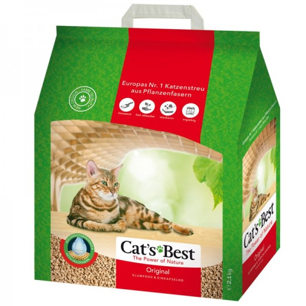 Cat´s Best Original Katzenstreu 10L | mdpetfood.at