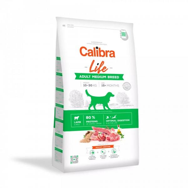 Calibra Life Adult Medium Breed Lamb (Hund)