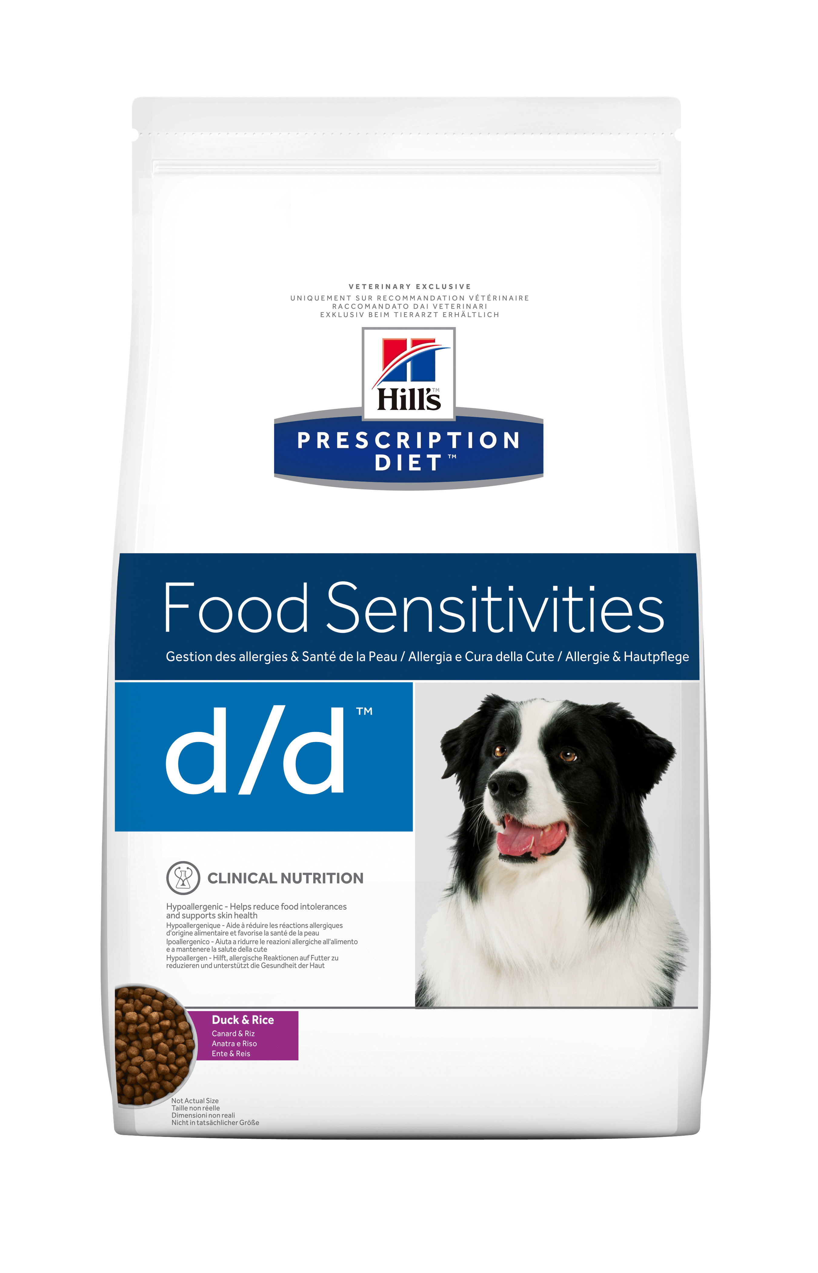 canine d d mit ente reis hund vet di t trockenfutter hunde md pet food. Black Bedroom Furniture Sets. Home Design Ideas