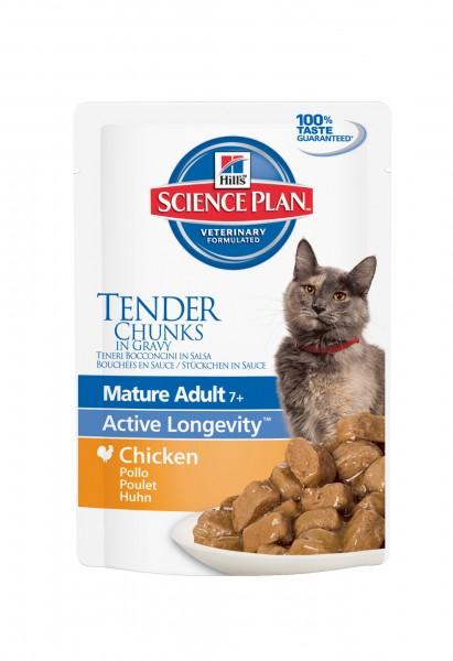 Feline Mature Adult Senior Active Longevity Huhn (Katze)