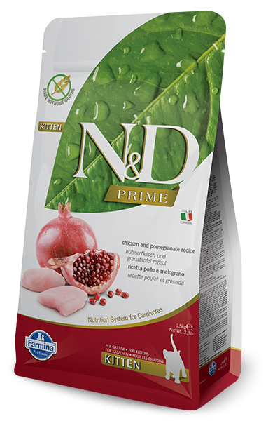 N&D Grain Free Kitten Chicken & Pomegranate (Katze)
