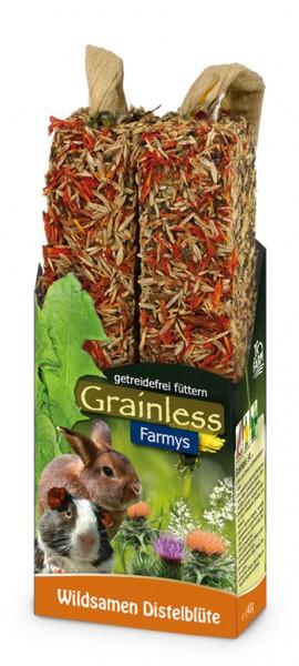 JR Grainless Wildsamen-Distelblüte