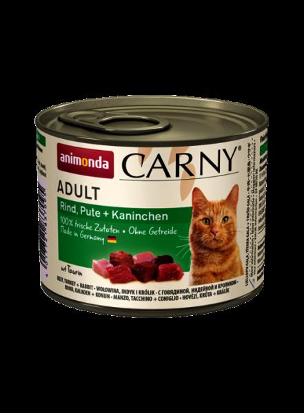 Animonda Carny Rind, Pute + Kaninchen