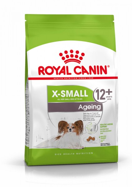 X-Small Ageing 12+ (Hund)